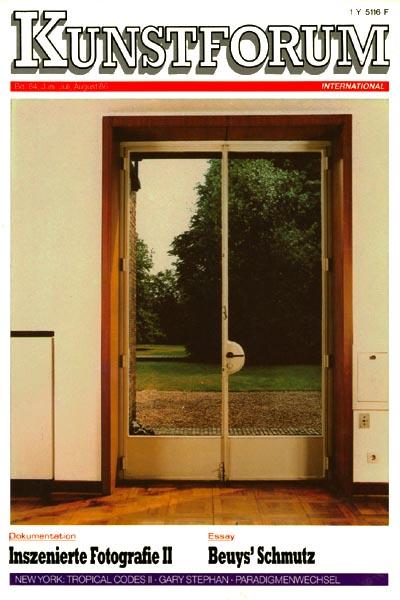 Kunstforum Bd. 84
