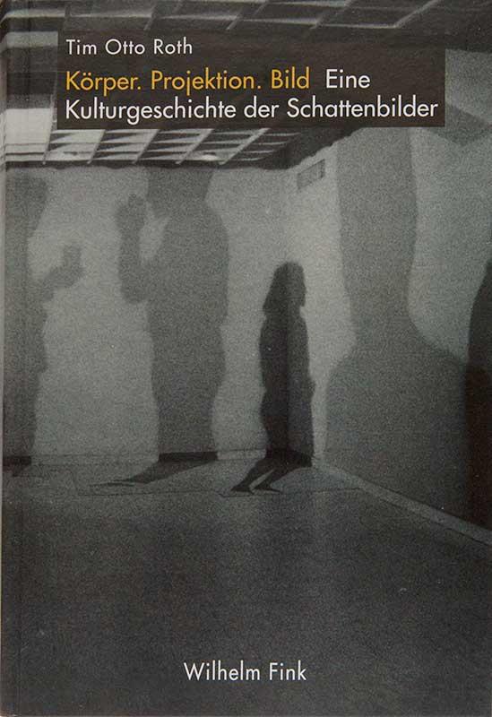 Körper. Projektion. Bild Schattenbilder