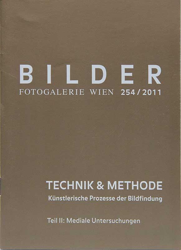 Technik & Methode Teil II – künstlerische Prozesse der Bildfindung