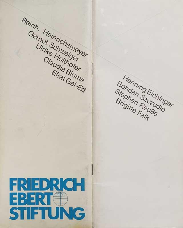 Stipendiaten der Friedrich-Ebert-Stiftung